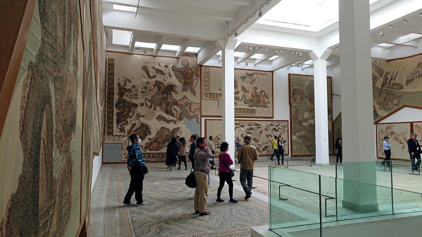 チュニスのバルドー博物館で2階の秘宝も見学していきます8