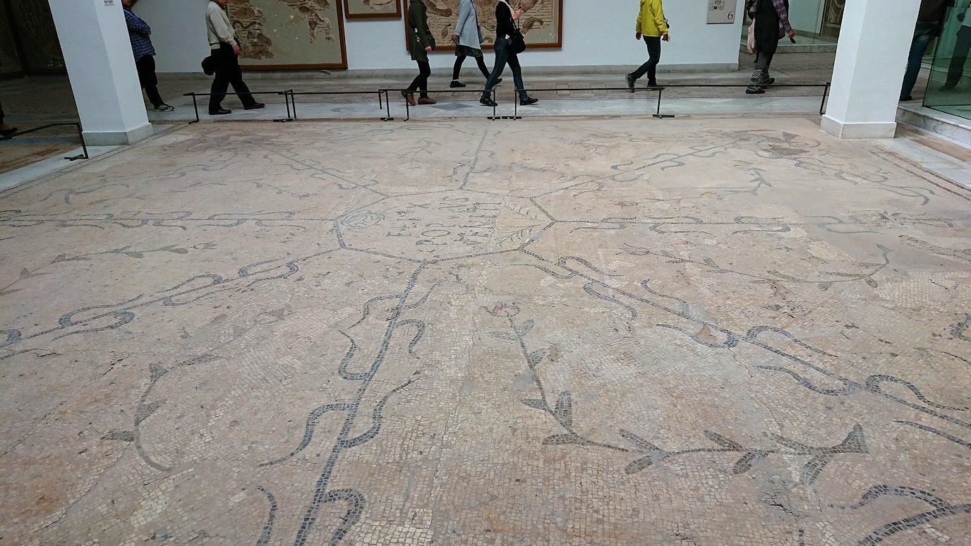 チュニスのバルドー博物館で2階の秘宝も見学していきます9