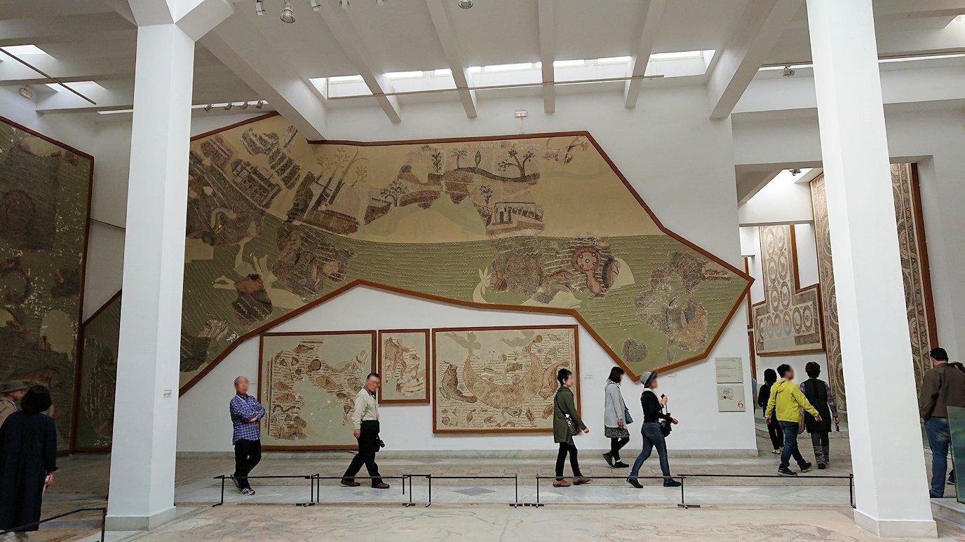 チュニスのバルドー博物館で2階もたっぷり見て行きます