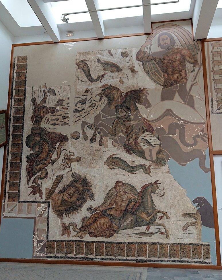チュニスのバルドー博物館で2階もたっぷり見て行きます1