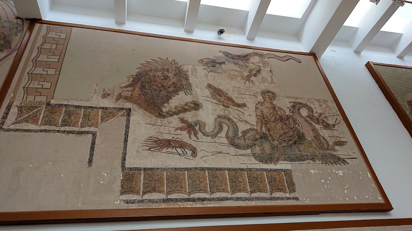 チュニスのバルドー博物館で2階もたっぷり見て行きます2