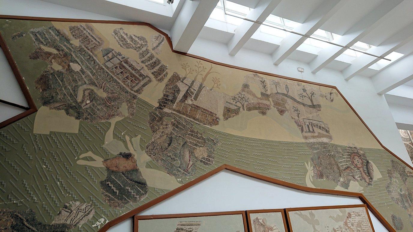 チュニスのバルドー博物館で2階もたっぷり見て行きます4