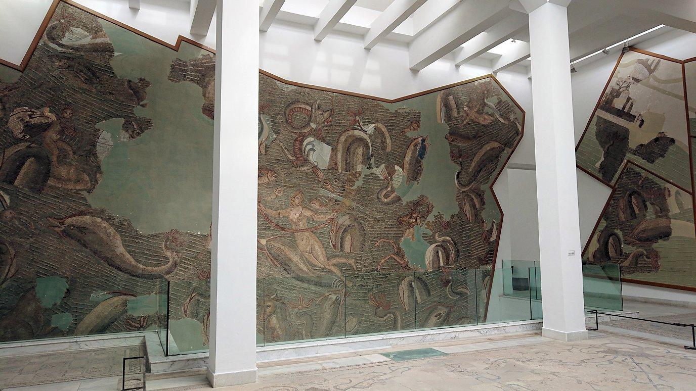 チュニスのバルドー博物館で2階もたっぷり見て行きます5
