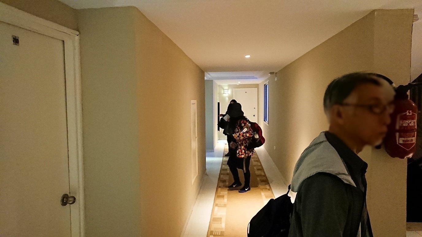 ケロアンのインターコンチネンタルホテルにチェックイン6