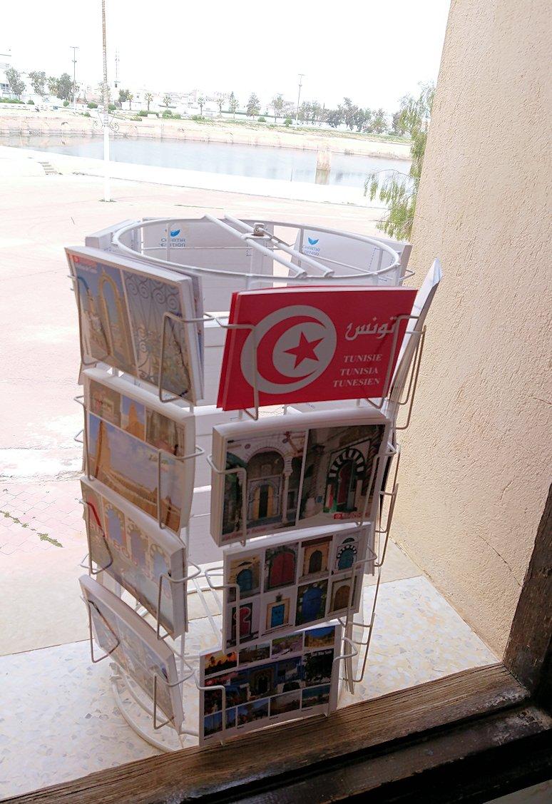 チュニジアのホテル:コンチネンタル(CONTINENTAL)を出て向かいの貯水池を見学しお土産を購入8