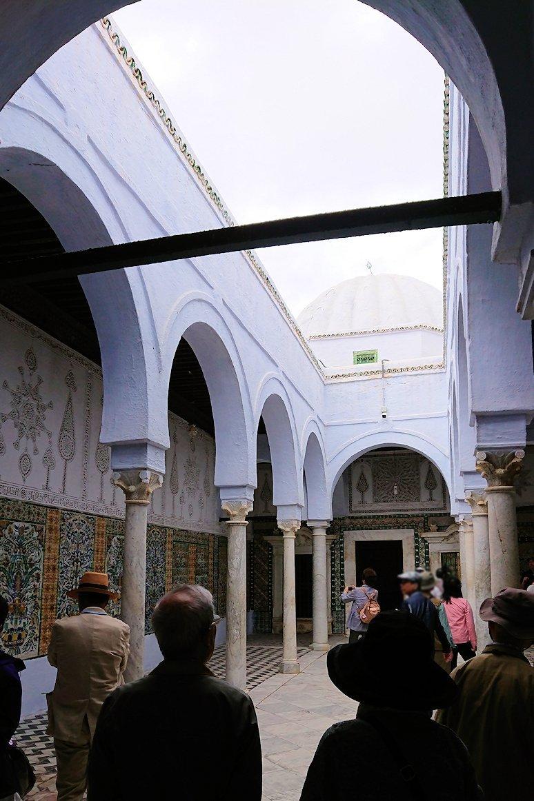 ケロアンのシディ・サハブ霊廟に中を見学2