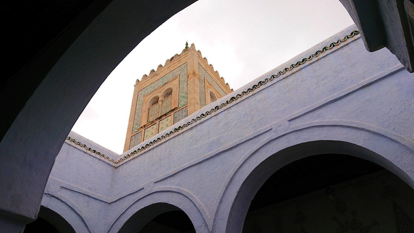 ケロアンのシディ・サハブ霊廟に中を見学3