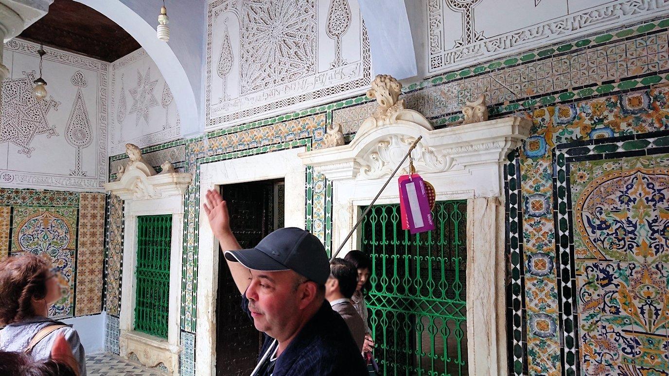 ケロアンのシディ・サハブ霊廟に中を見学5