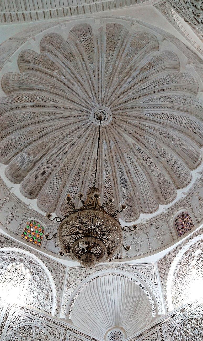ケロアンのシディ・サハブ霊廟に中を見学9