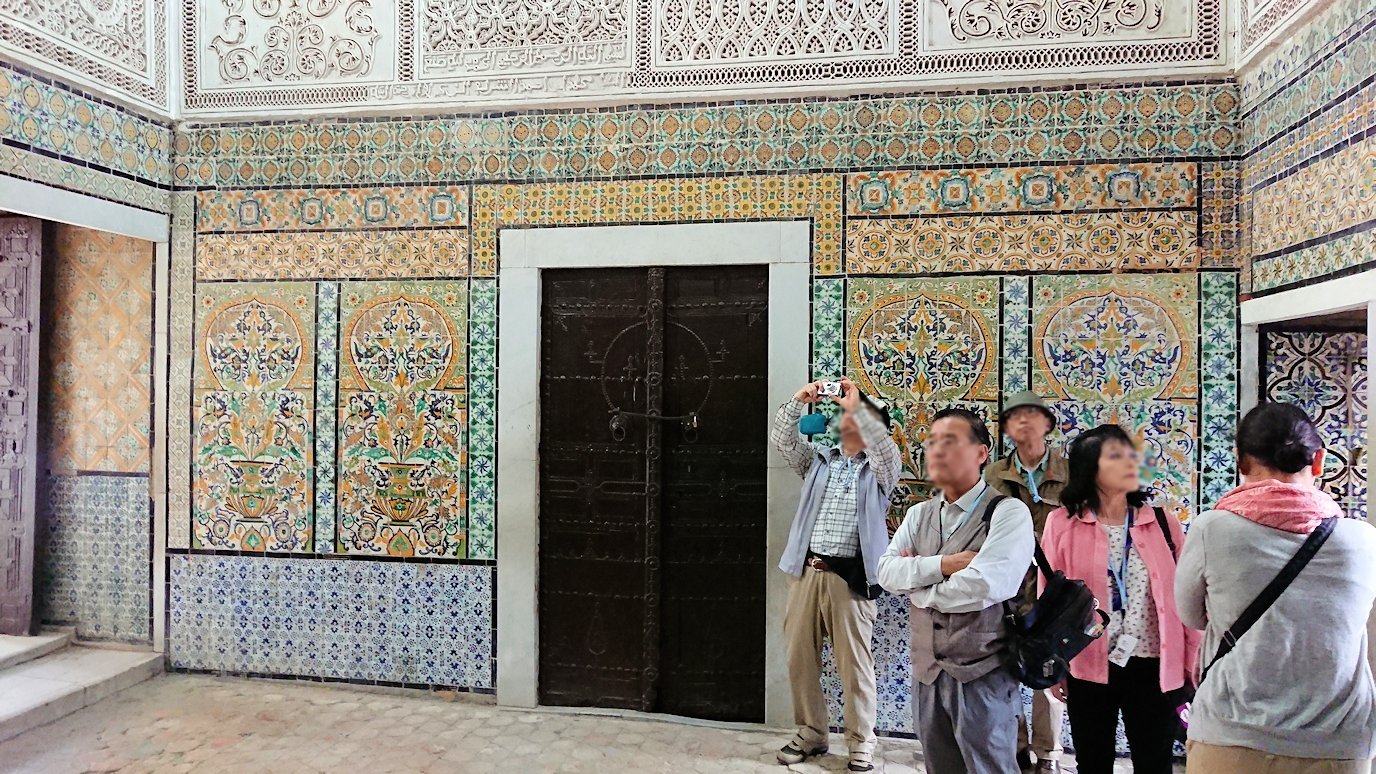 ケロアンのシディ・サハブ霊廟に中を散策1