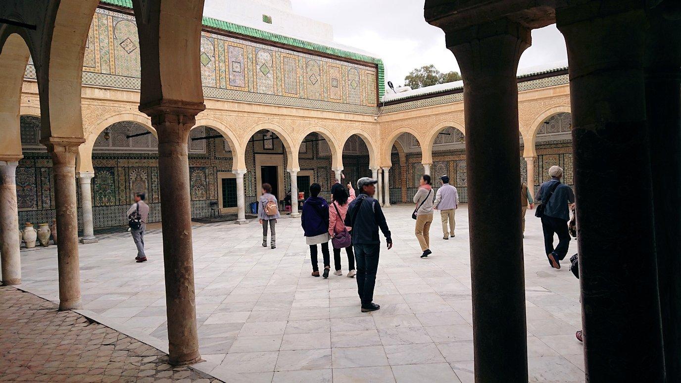 ケロアンのシディ・サハブ霊廟に中を散策2
