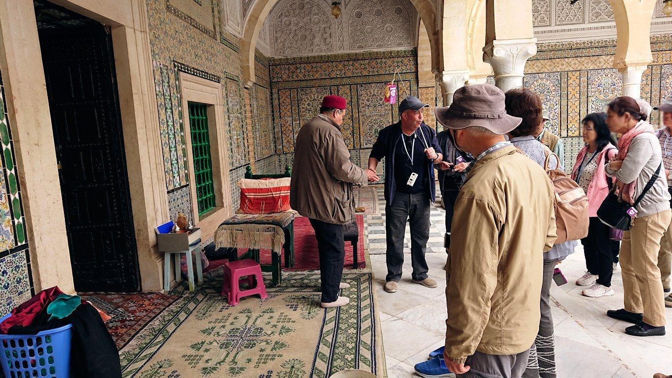 ケロアンのシディ・サハブ霊廟に中を散策7