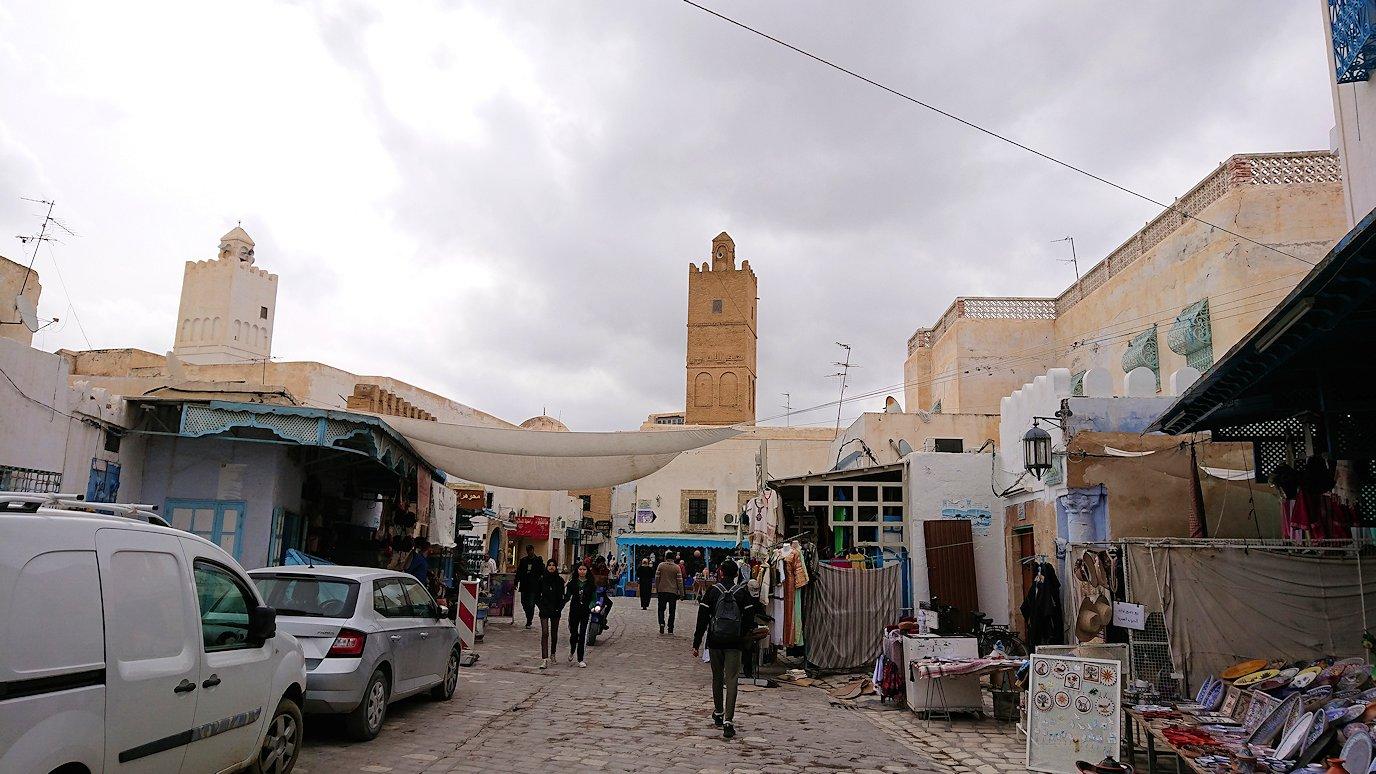 ケロアンのグランドモスクの観光が終了しメディナを散策してみます7