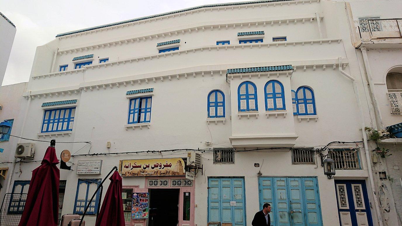 ケロアンのグランドモスクの観光が終了しメディナを楽しんで歩く9