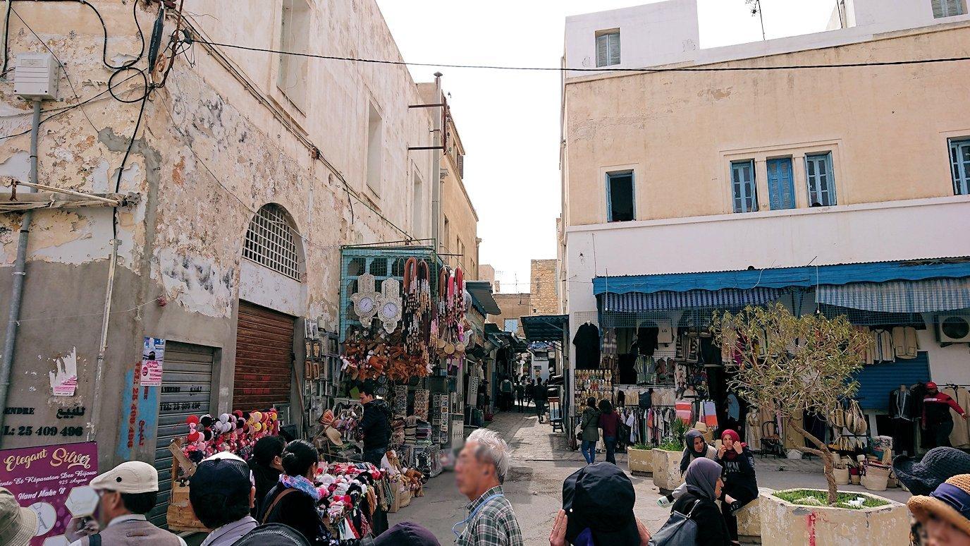 チュニジアのスースの街の旧市街を歩いて一周します4
