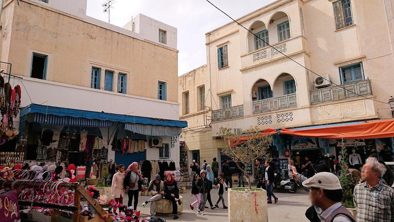 チュニジアのスースの街の旧市街を歩いて一周します5