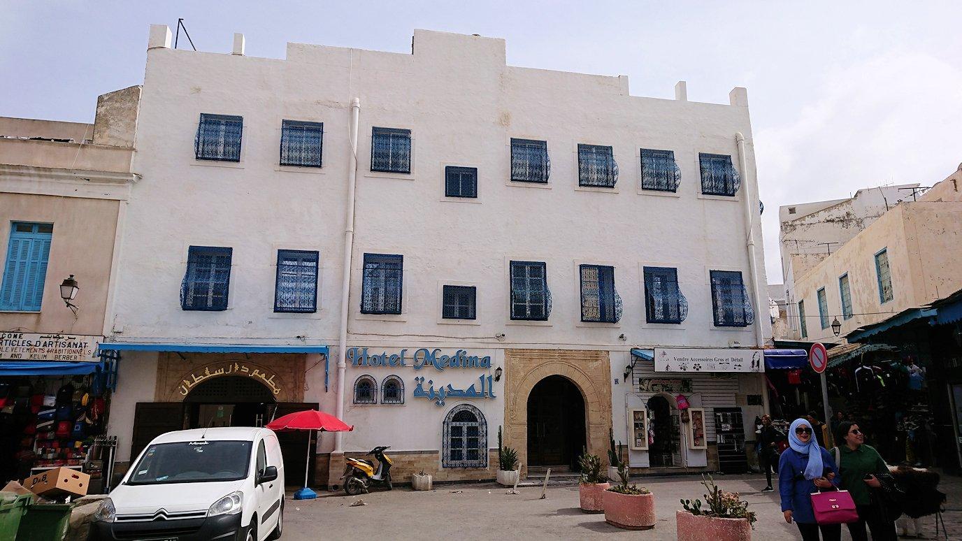 チュニジアのスースの街の旧市街を歩いて一周します6
