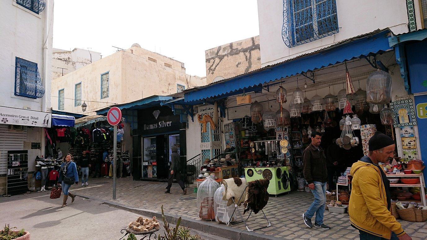 チュニジアのスースの街の旧市街を歩いて一周します7