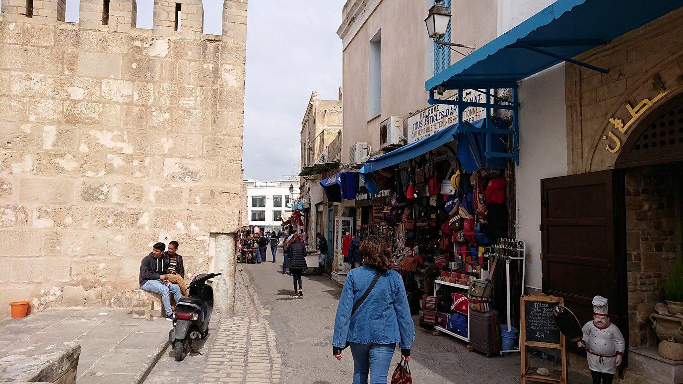 チュニジアのスースの街の旧市街を歩いて一周します8