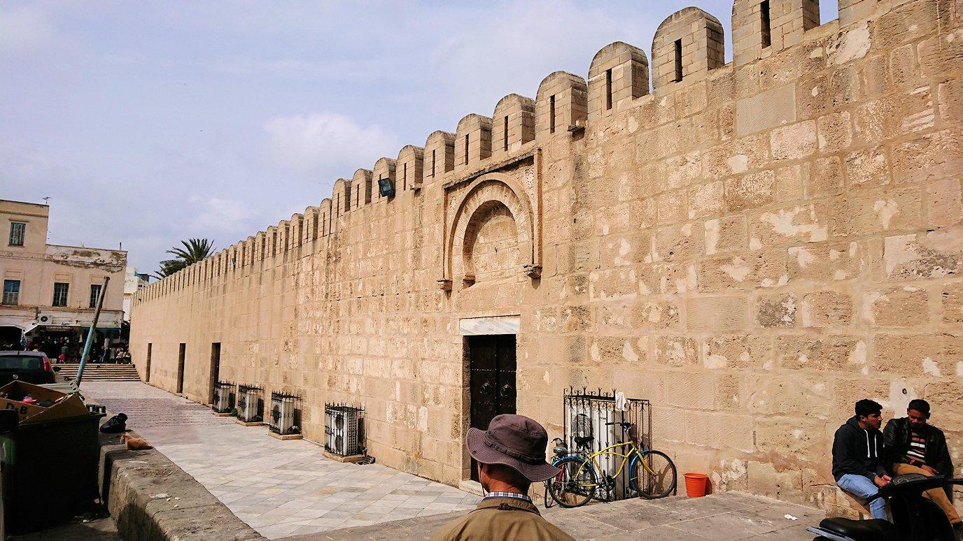 チュニジアのスースの街の旧市街を歩いて一周します9