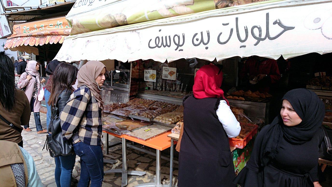 チュニジアのスースの街の旧市街を歩いて一周して見かけたものは9