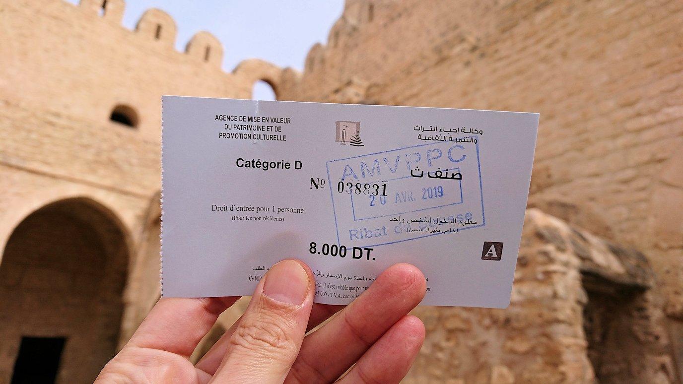 チュニジアのスースの街の旧市街で自由時間にラバトへ向かう6