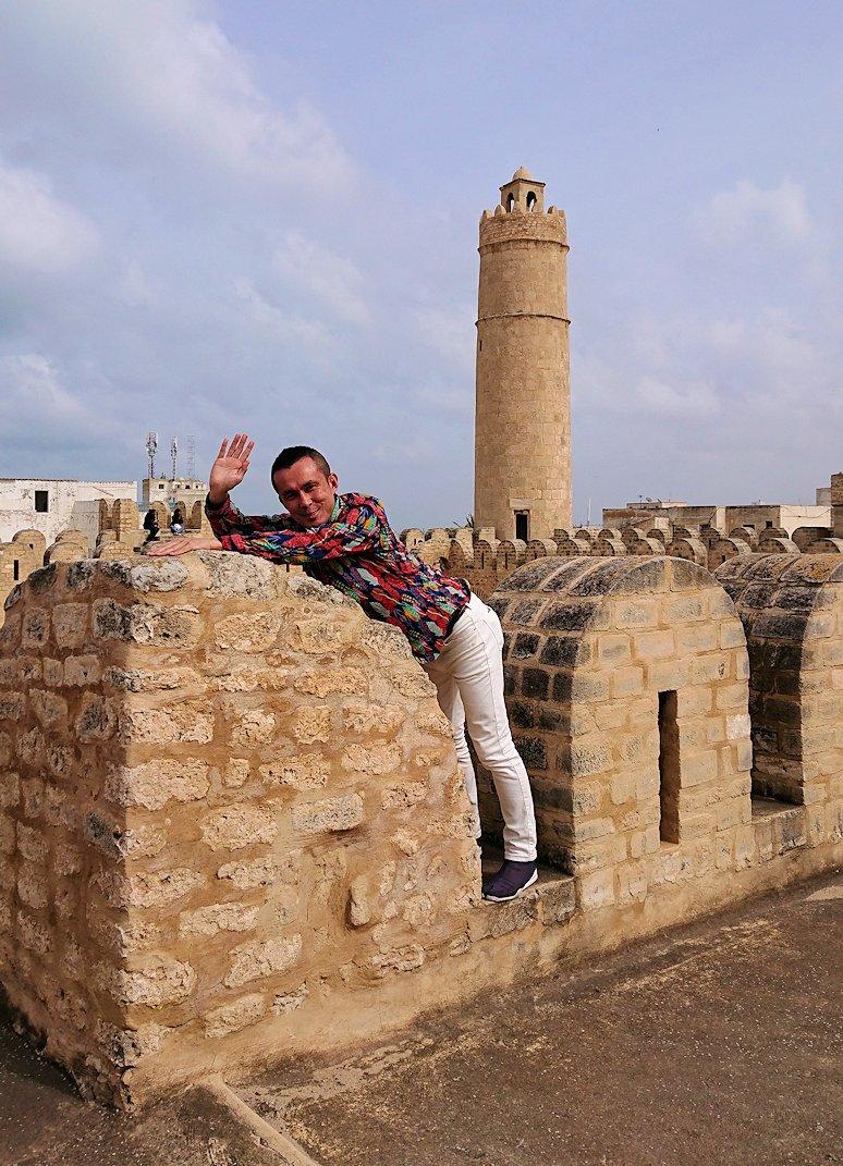 チュニジアのスースの街の旧市街で自由時間にリバトの様子1