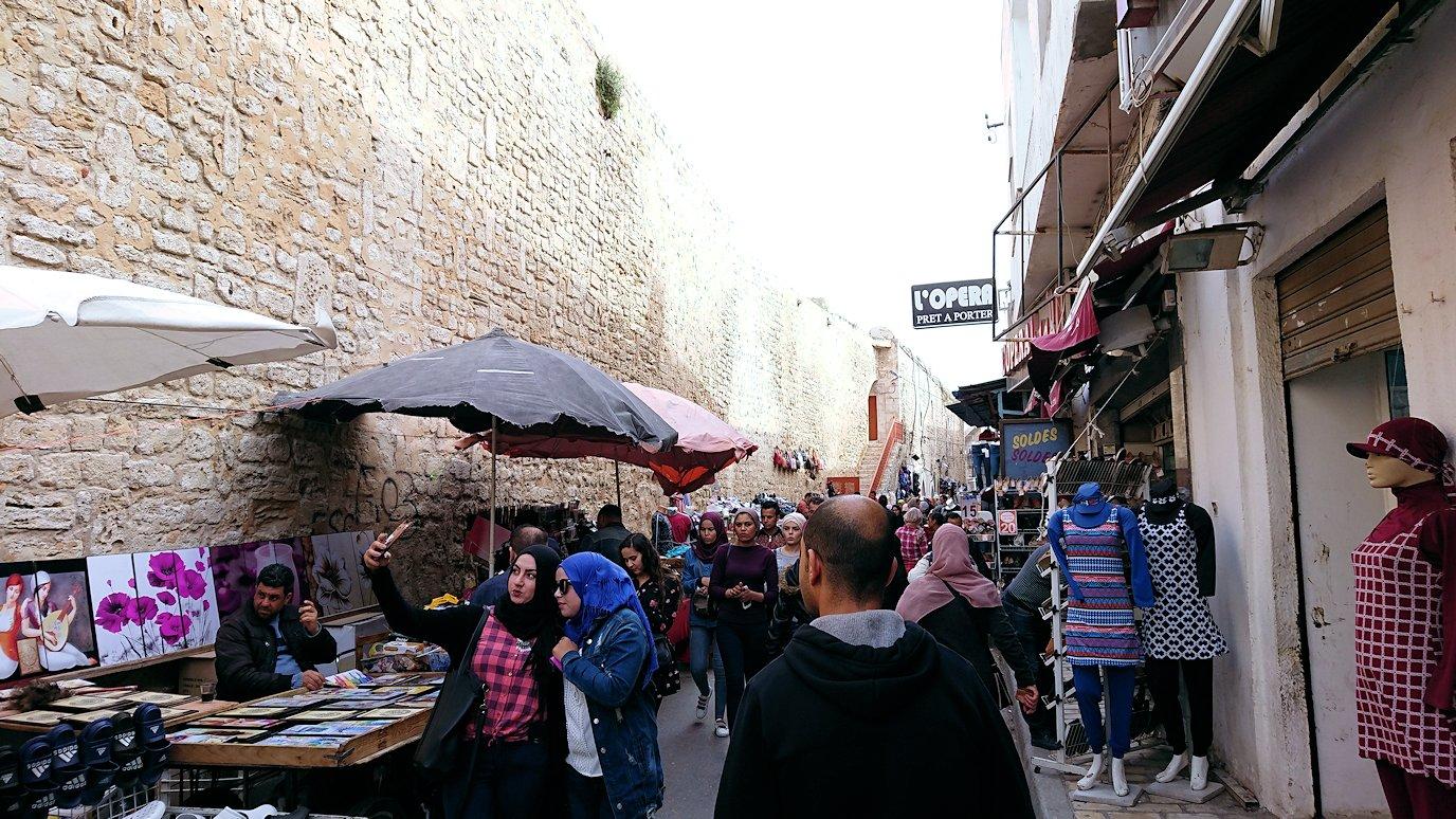 チュニジアのスースの旧市街を散策します7