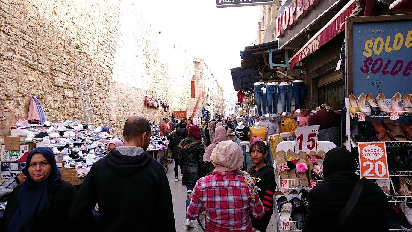 チュニジアのスースの旧市街を散策します8