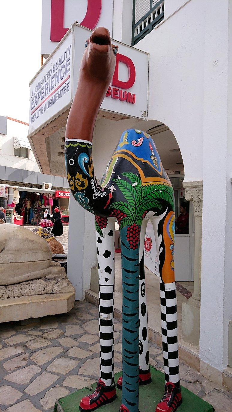 チュニジアのスースの旧市街を散策し、お土産専門店お土産専門店のショッピングセンターの中を散策7