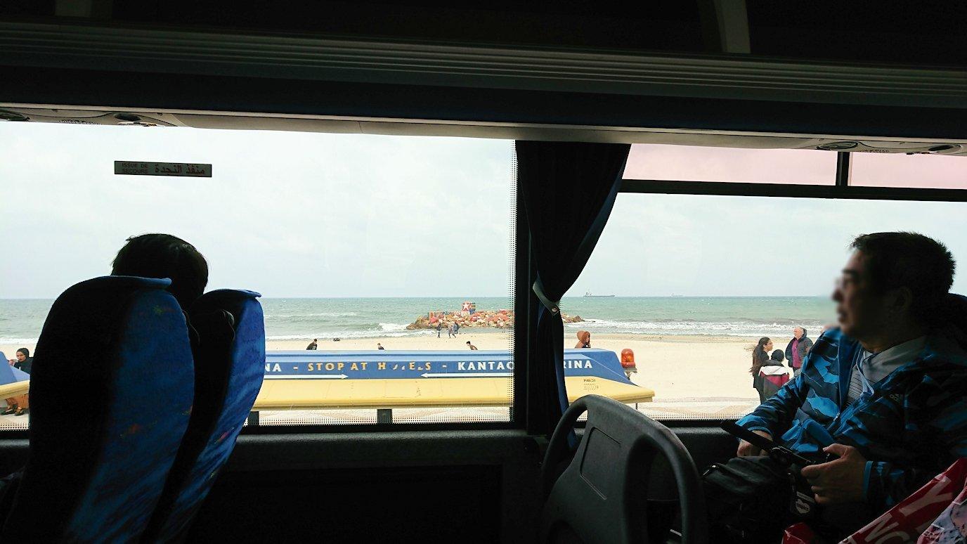 チュニジアのスースからポートエルカンタウィに移動5