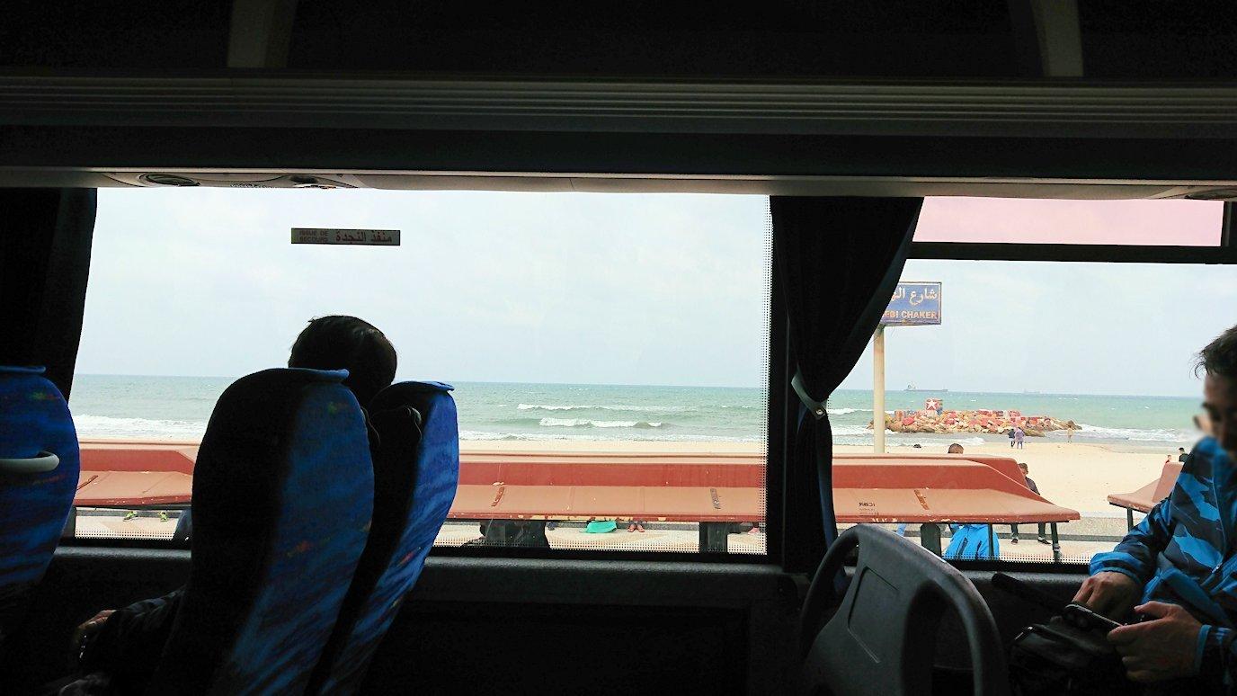 チュニジアのスースからポートエルカンタウィに移動6