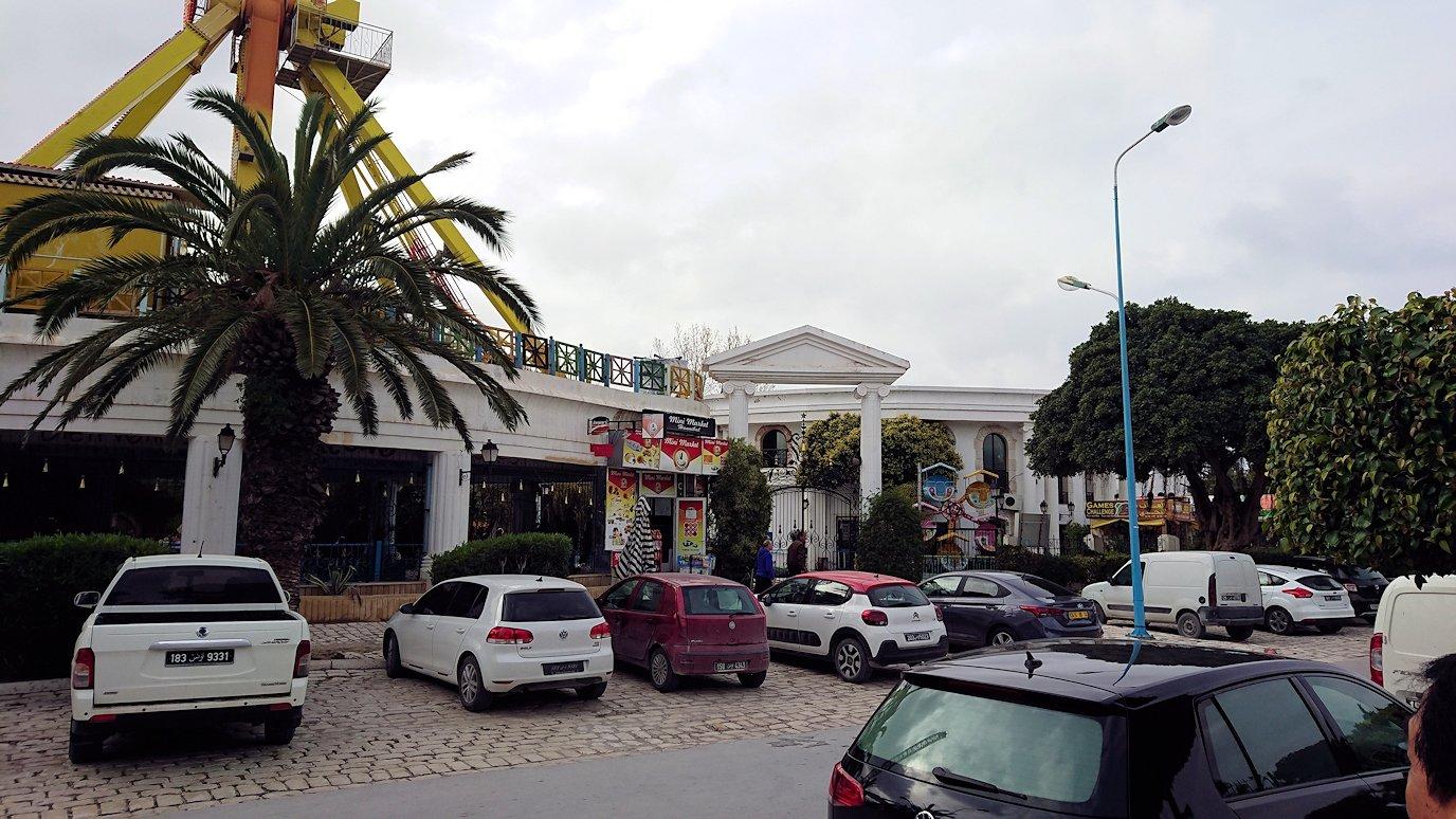 チュニジアのポートエルカンタウィに到着1
