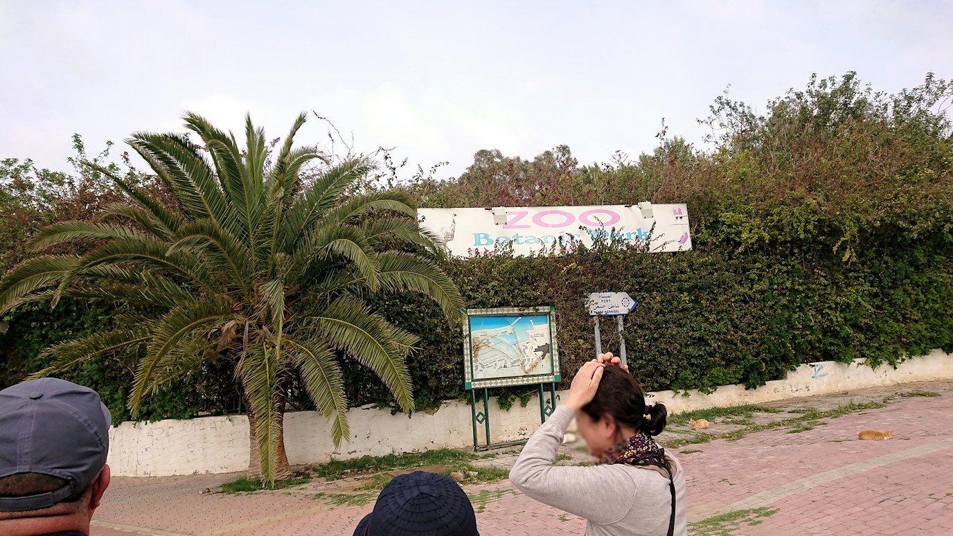 チュニジアのポートエルカンタウィに到着2