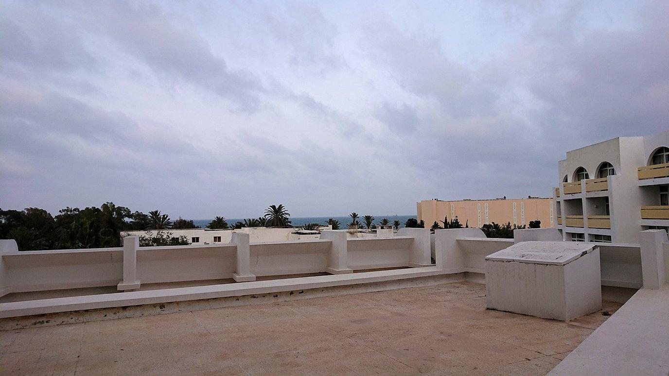 チュニジアのスースの街にある「マルハバ ロイヤル サレム」ホテルの部屋の様子6