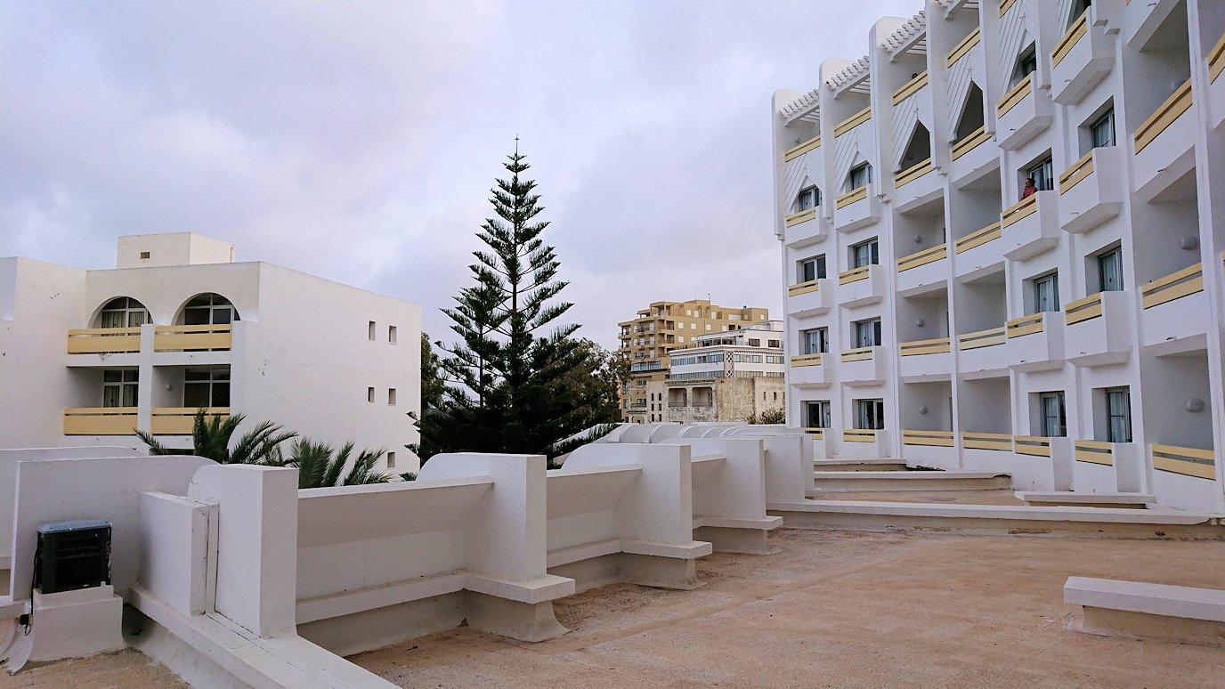 チュニジアのスースの街にある「マルハバ ロイヤル サレム」ホテルの部屋の様子7