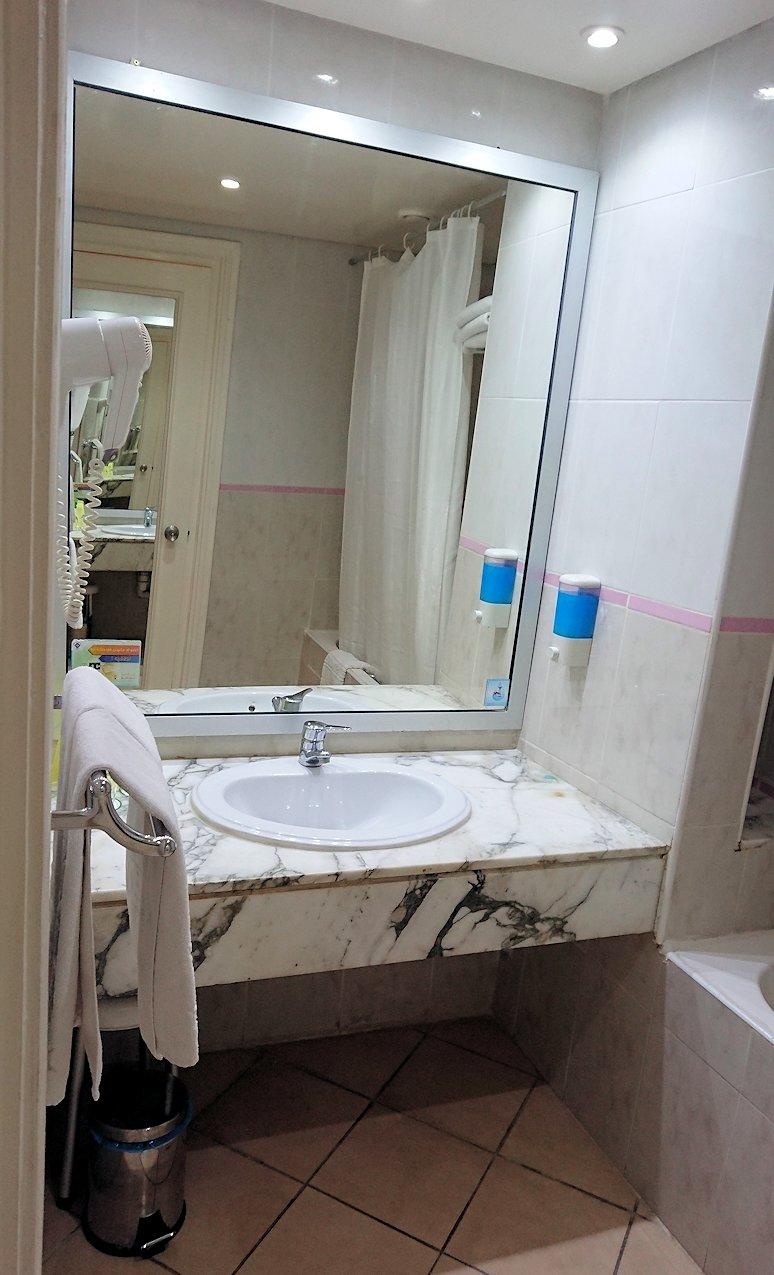 チュニジアのスースの街にある「マルハバ ロイヤル サレム」ホテルの部屋の様子8