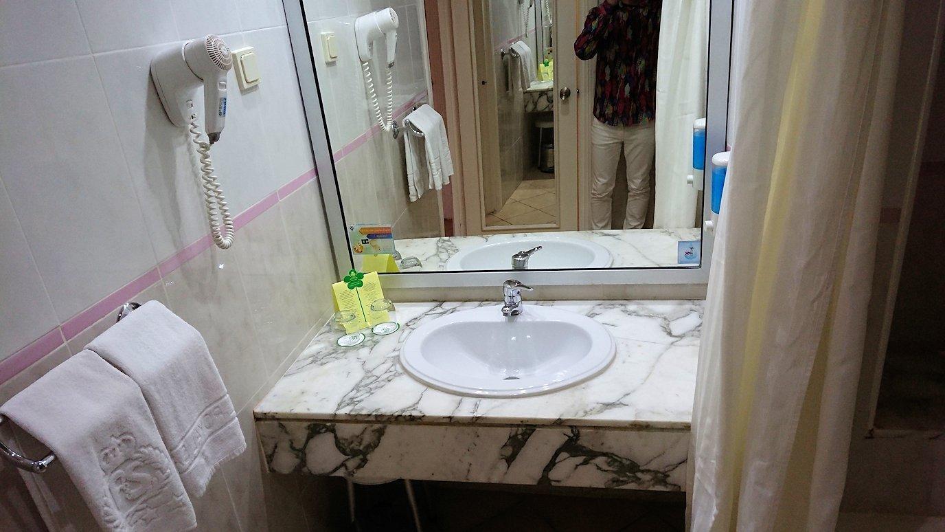 チュニジアのスースの街にある「マルハバ ロイヤル サレム」ホテルの様子を撮影1