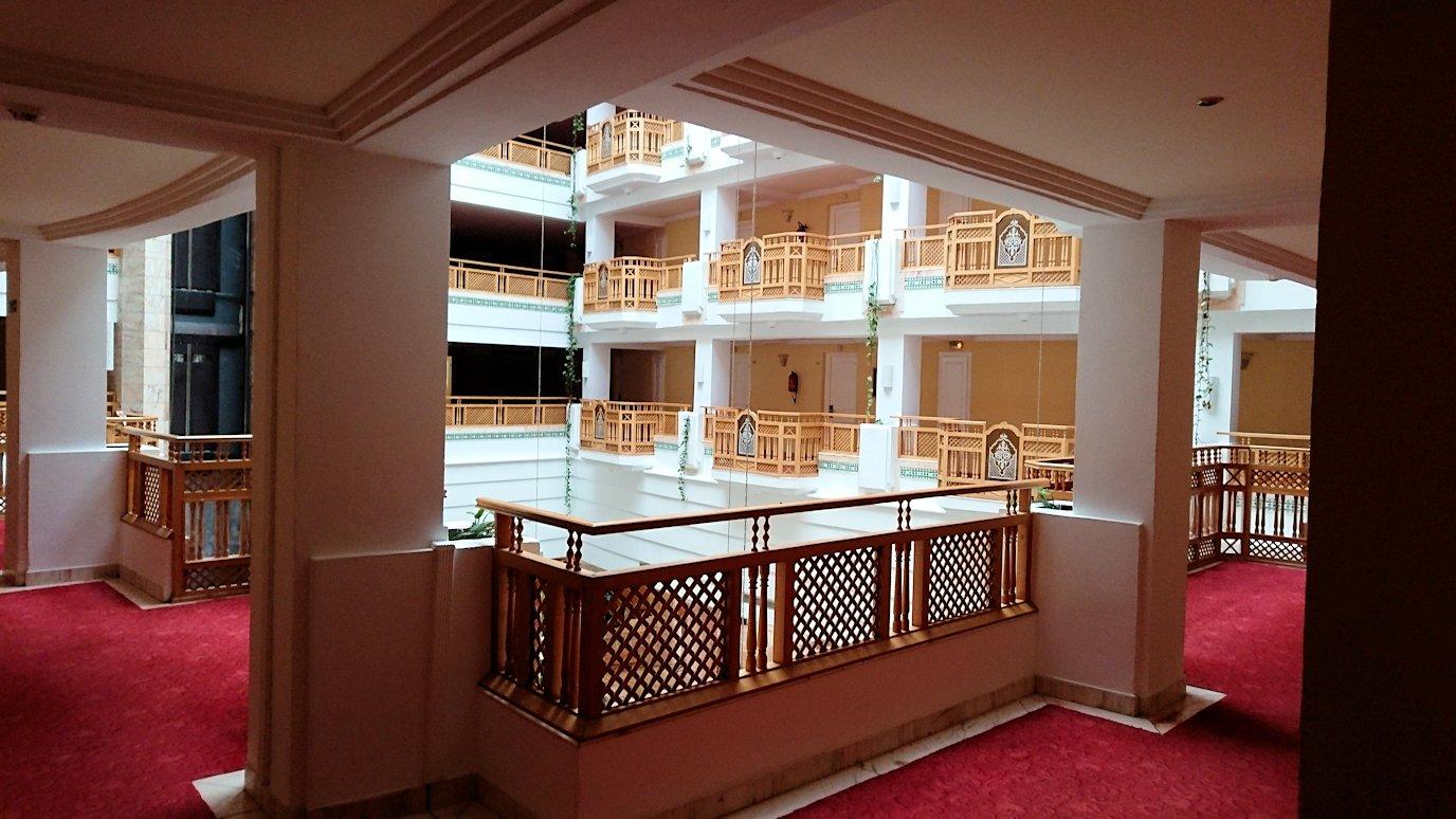 チュニジアのスースの街にある「マルハバ ロイヤル サレム」ホテルの様子を撮影3