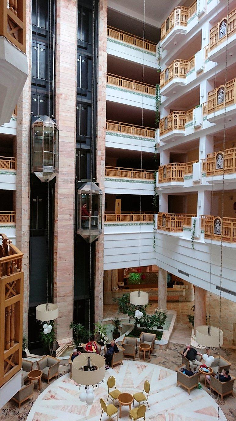 チュニジアのスースの街にある「マルハバ ロイヤル サレム」ホテルの様子を撮影4