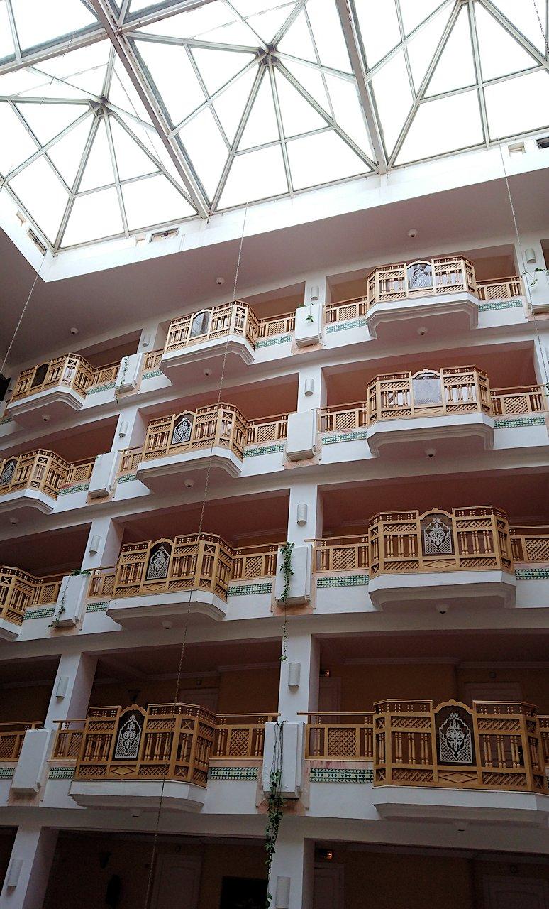 チュニジアのスースの街にある「マルハバ ロイヤル サレム」ホテルの様子を撮影5