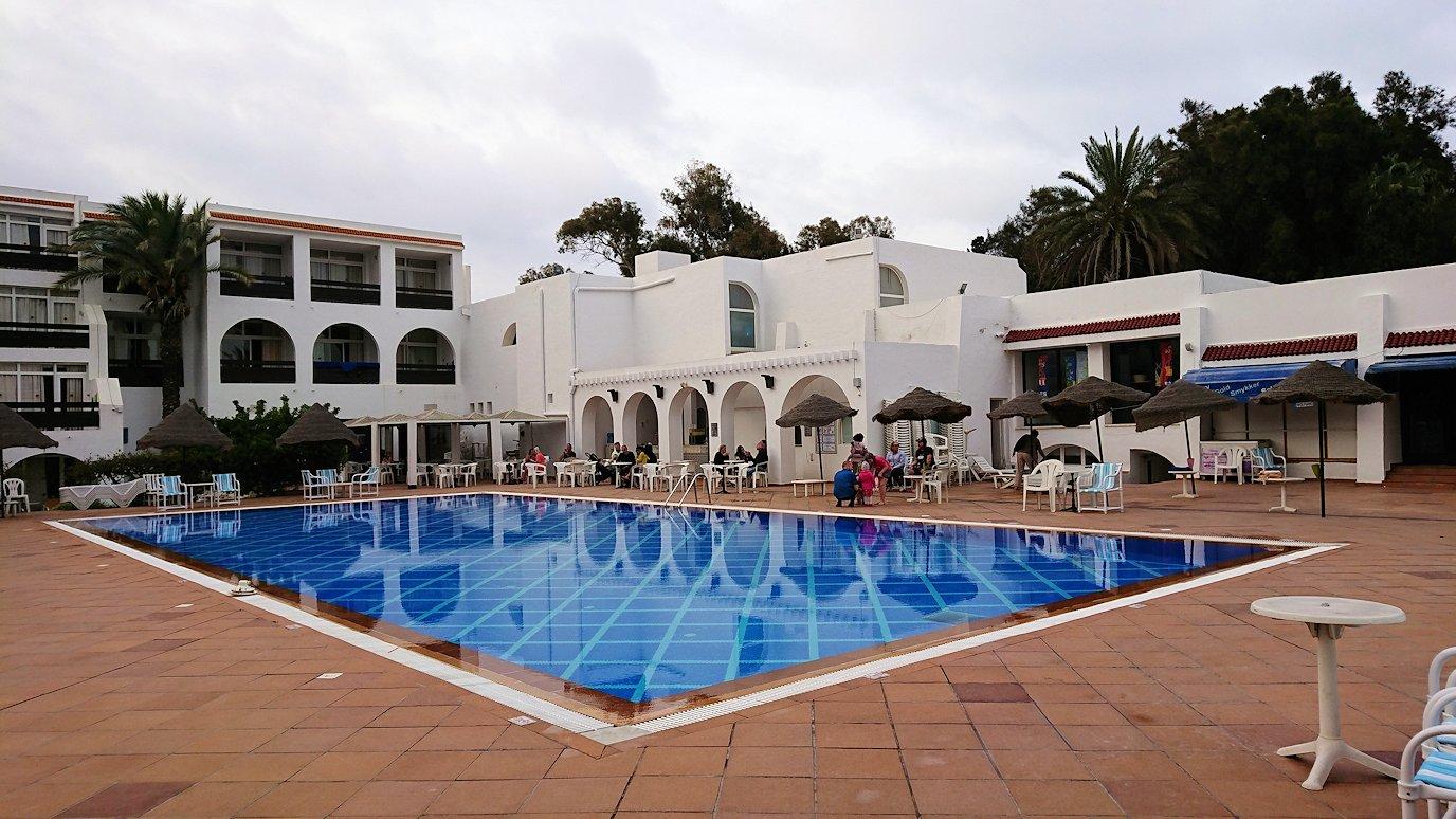 チュニジアのスースの街にある「マルハバ ロイヤル サレム」ホテル内を散策する5