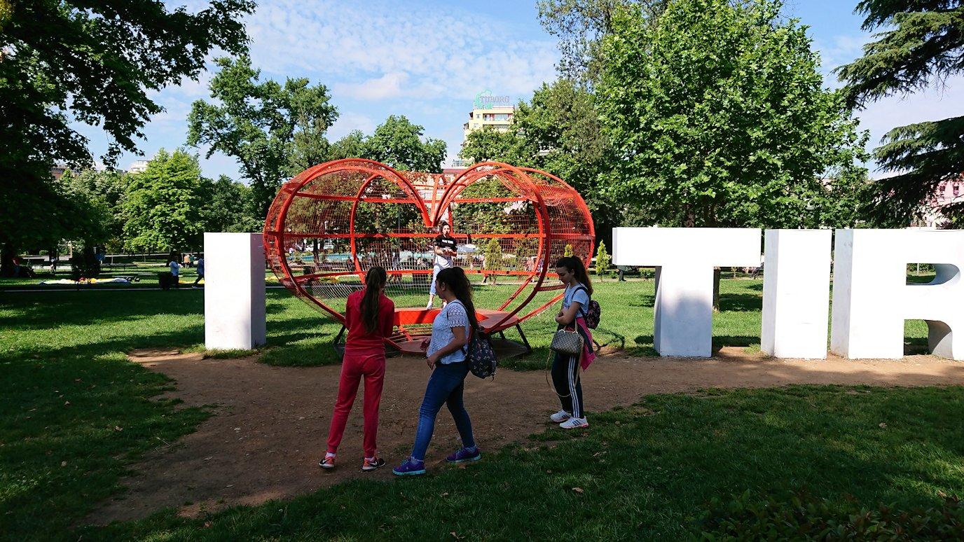 アルバニアで首都ティラナで子供の日イベントを楽しむ5