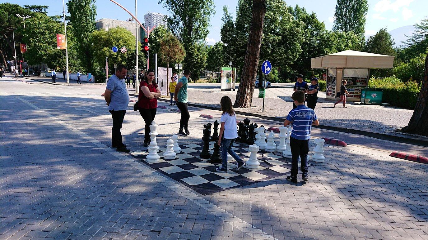 アルバニアで首都ティラナで子供の日イベント通りでみたもの3