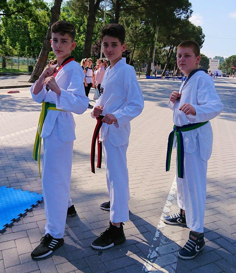 アルバニアで首都ティラナで子供の日イベント通りでみたもの5
