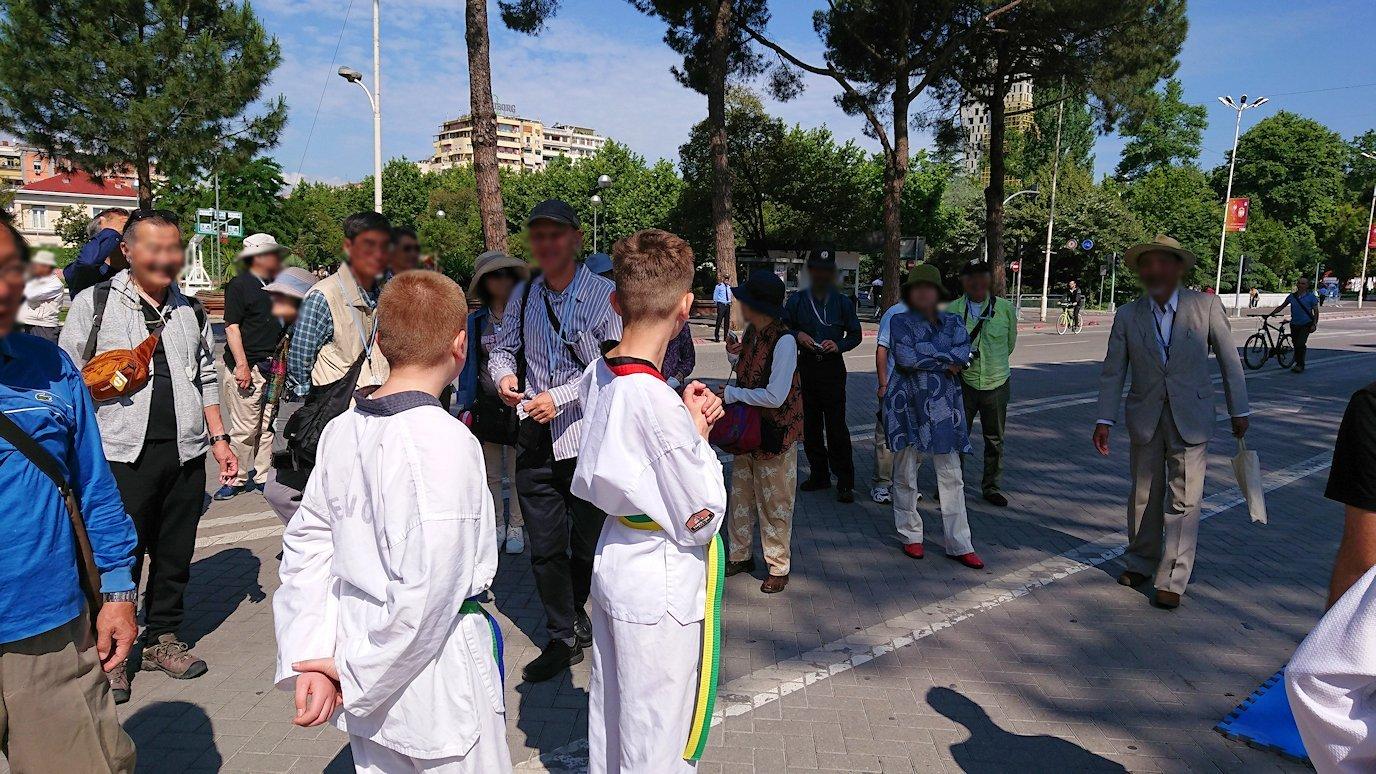 アルバニアで首都ティラナで子供の日イベント通りでみたもの6