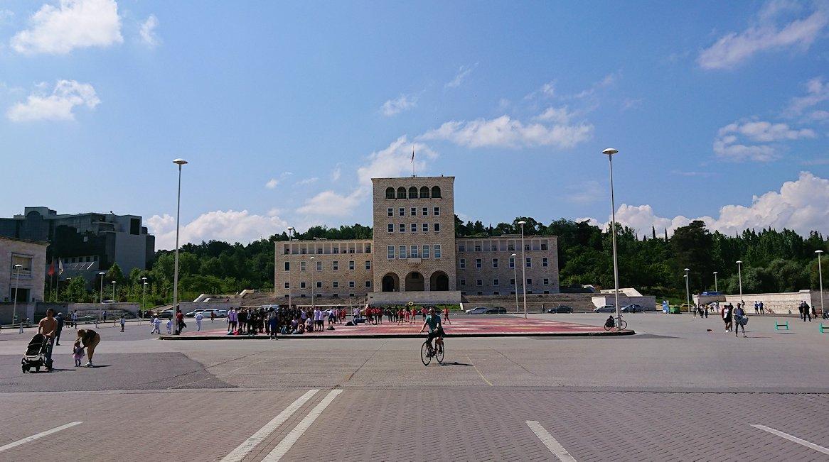 アルバニアのティラナで市内散策1