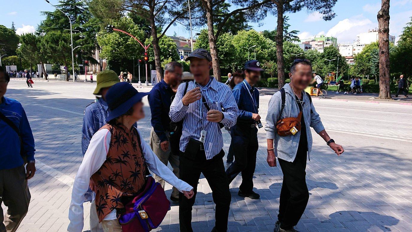 アルバニアのティラナで市内散策4
