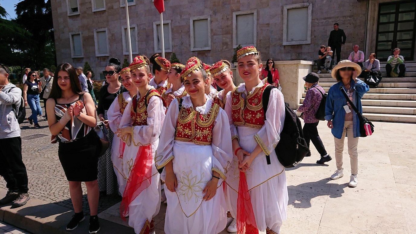 アルバニアのティラナで市内散策8