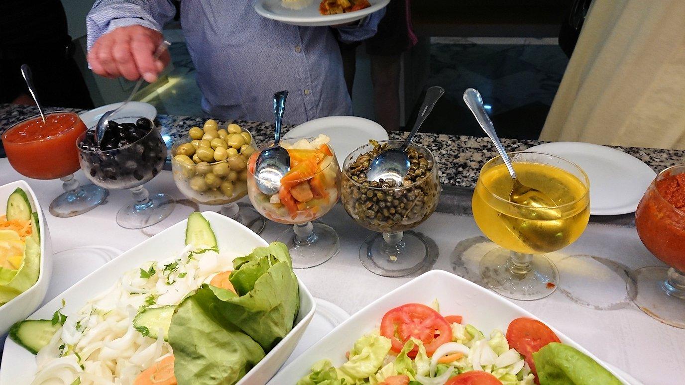 チュニジア:スースのホテルで朝食を1